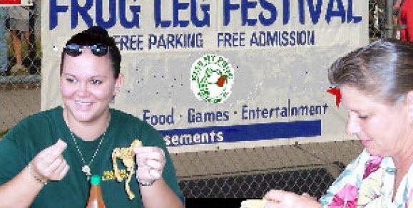 fellsmere-frog-leg-festival