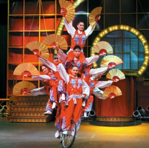 Chinese Acrobats - Bike