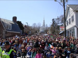 Mystic Irish Parade - Crowd