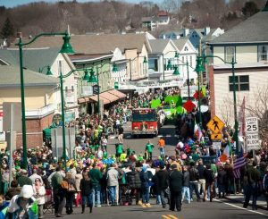 Mystic Irish Parade - Street