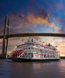 Savannah River Cruise 4th of July Boat