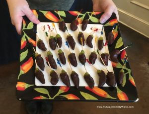 St Augustine Chocolate Tour -Peppers 1