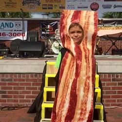 DeLand Bacon Fest Bacon Costume