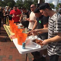 Deland Bacon Fest Bacon Eating Contest
