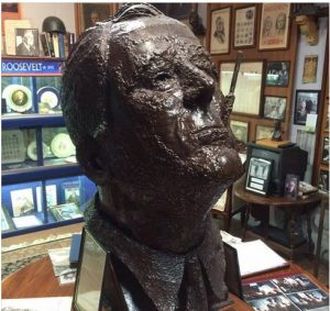 Antique Car Museum Roosevelt Bust