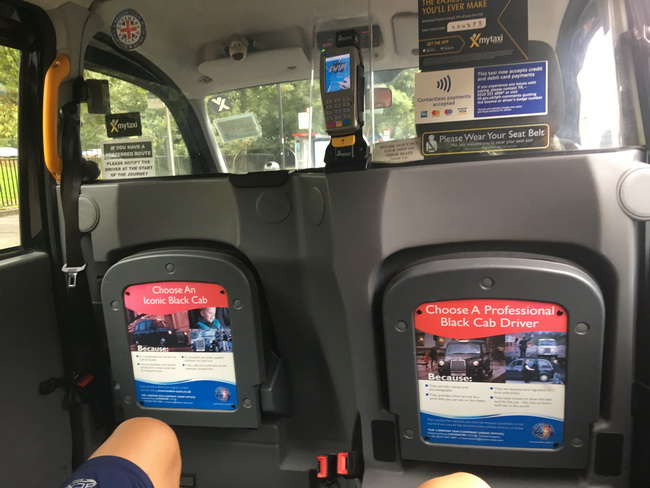 Inside The Cool New Black London Taxis With Their Delightful Driver Info You Can Always Count On Them Being Available Even When Uber Isn T
